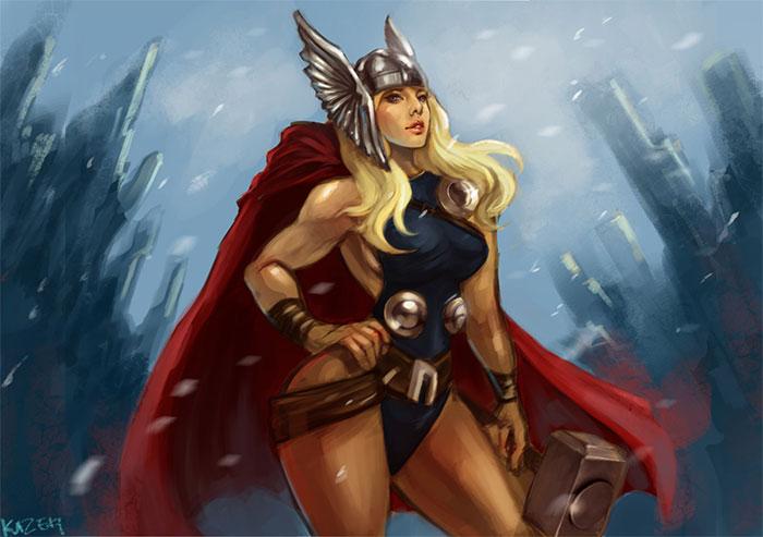 thor-mujer-marvel
